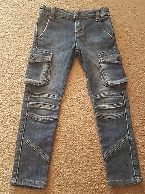 WITCHERY KIDS Unisex Skinny Leg Jeans - Size 3/4 - AS NEW!