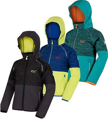 Regatta Hydronic II Kids Softshell Jacket Girls Boys