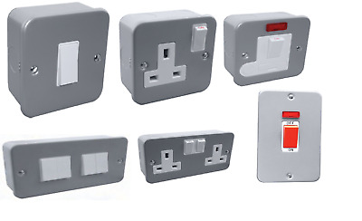 Metal Clad Electrical Fittings Socket and Switches Spur 20a 45a 1g 2g 3g 4g 6g