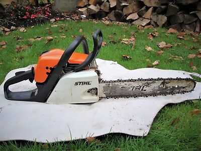 Sthil MS 181 Chainsaw, Petrol 2 Stroke used