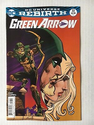 DC Comics: Green Arrow #33 Variant Cover (2017) - BN - Bagged and Boarded