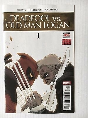 Marvel Comics: Deadpool Vs. Old Man Logan #1(2017) - BN Bagged and Boarded