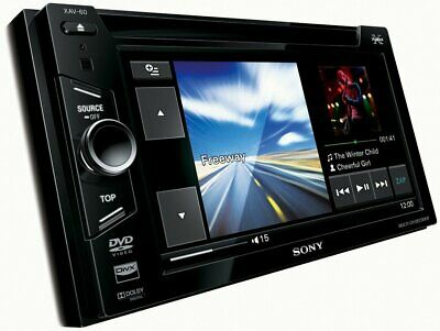 SONY XAV-60 DOUBLE din Car Stereo Head Unit LCD DVD