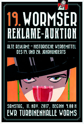 19. Wormser Reklame - Auktion 11. November 2017