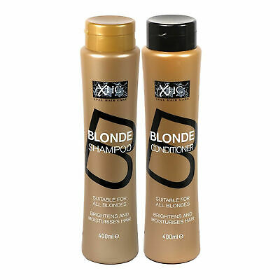 Blonde Shampoo & Conditioner Brightens  Moisturize Hair Suitable For All Blondes