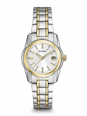 Bulova Women's 98M105 Classic Quartz Two-Tone Stainless Steel Bracelet Watch
