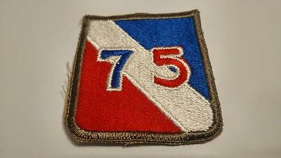 Us Army Wwii 75Th Infantry Division Shoulder Patch
