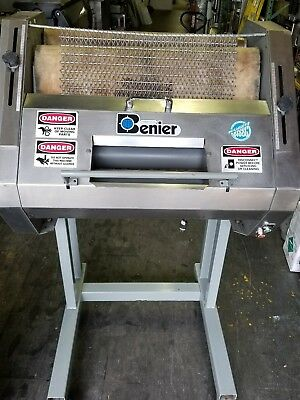 BENIER French Bread Moulder/ Sheeter  110V/1Ph.