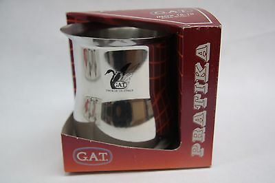 New 18-10 Stainless Commercial Milk Frothing Pitcher, Pratika, Made in Italy