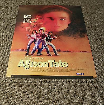 """The Abduction Of Allison Tate - 1986 Original Movie Poster 27X40"""" - No Folds -T"""