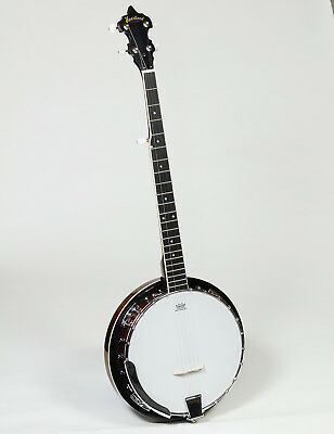 New Heartland 5 String Banjo With Hard Case