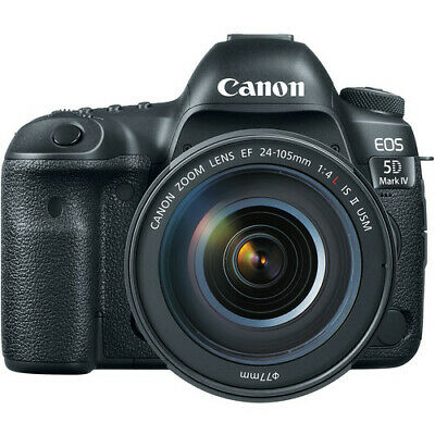 Canon EOS 5D Mark IV DSLR Camera with 24-105mm f/4L IS II USM Lens!! BRAND NEW!!