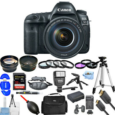 Canon EOS 5D Mark IV DSLR Camera with 24-105mm f/4L IS II USM Lens!! MEGA BUNDLE