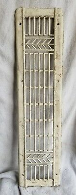 Reclaimed Vintage Art Deco Vent/Cold air return from Louis Schwitzer Mansion