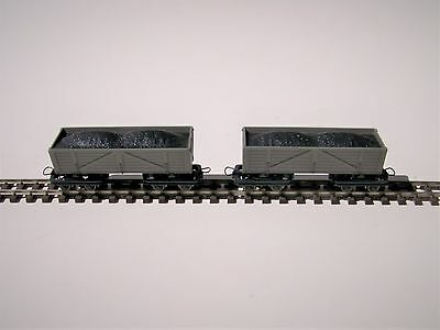 Roco 2 Unit Lite Railway Truck Set with Load  HOn30, HOe Scale  Brand New! 34610