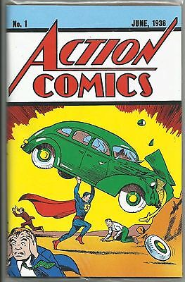 Superman Action Comics #1 Loot Crate June 1938 #1 Reprint with COA FREE SHIPPING