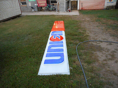 "Vintage Union 76 Sign 15' 6 1/2"" full length  From the '70' Price reduced"