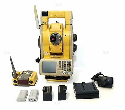 Topcon GTS-903A Robotic Total Station With RC-4R and A7 PRISM