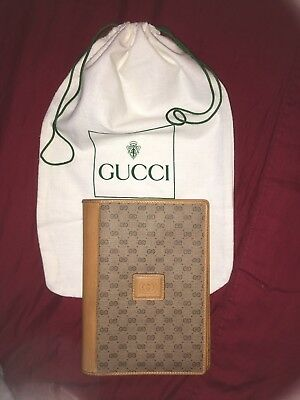 Authentic Gucci Vintage Note Book Cover