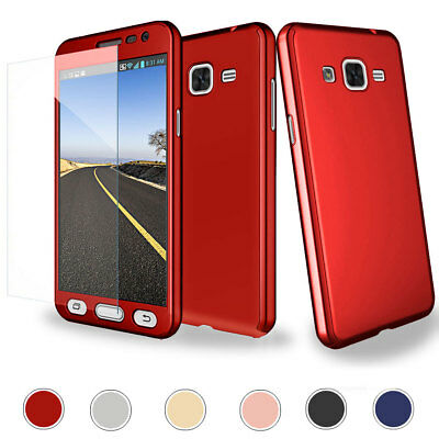 For Samsung Galaxy J2 Prime 360 Full Defender Hard Case Cover + Screen Protector