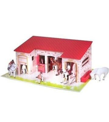 The Stable - Enviroments - Equidae - Papo. Shipping is Free