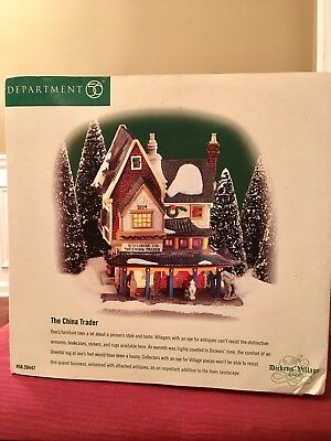 Dept 56 Dickens Village, The China Trader (#58447)