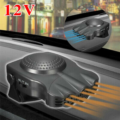 12V 150W Car Vehicle Portable Ceramic Heater Heating Cool Fan Defroster Demister