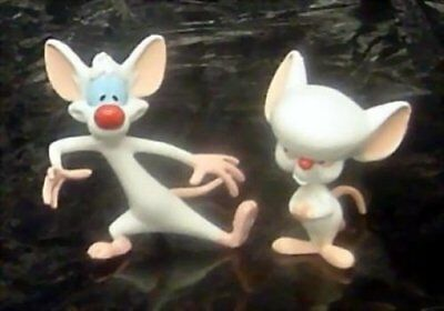 Pinky and the Brain PVC Figure set made in 1996