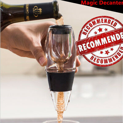 Manual Magic Decanter Essential RED Wine Aerator and Sediment Filter + Gift Box