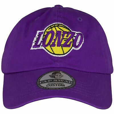 Los Angeles Lakers Lonzo Ball Purple Adjustable Dad Hat ed644d3ca6e3