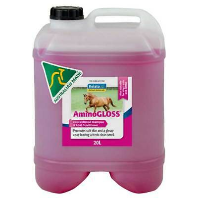 Kelato Aminogloss Coat Treatment, Concentrated Shampoo Horse / Equine 20 Litre