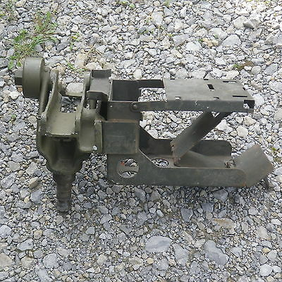 US ARMY cal.50 Browning MG Lafette, Wiege, cradle cal.50 WWII Modell D80030 Rare