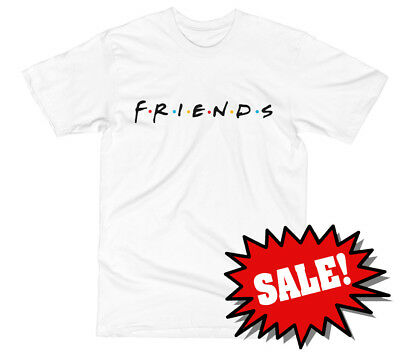 FRIENDS 90's Famous TV Show T SHIRT Classic Childhood Throwback Tee MENS S-XXL