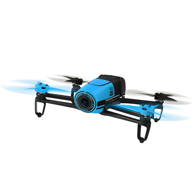 New Parrot Bebop Drone without Skycontroller - Blue