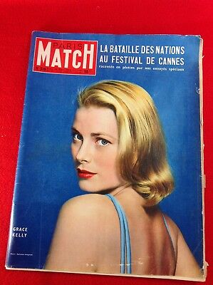 Vintage French Magazine : PARIS MATCH : No 319. 7 - 14 May 1955