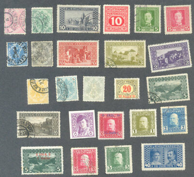 Bosnia-25 all different stamp collection good condition