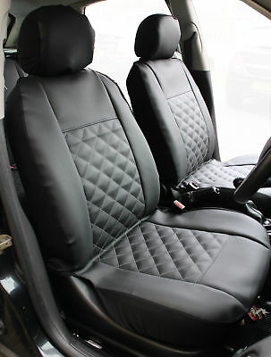 VAUXHALL ASTRA FRONT Pair of Luxury KNIGHTSBRIDGE LEATHER LOOK Car