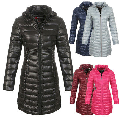 GEOGRAPHICAL NORWAY DAMEN Winter Stepp Jacke Mantel Parka