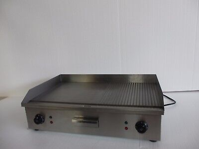 New Double Multi(FLAT/RIBBED) Commercial Electric Griddle 73CM Klee 2018