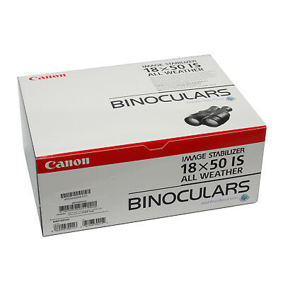 Canon 18x50 IS All Weather Binoculars Image Stabilized 18 x 50 Water-Resistant