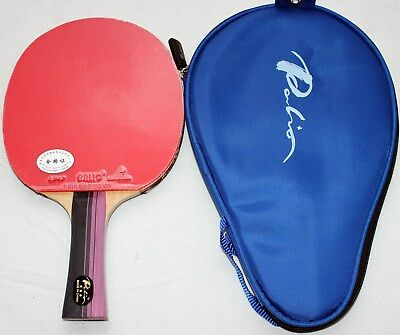 Palio 3Star Carbon Table Tennis Bat with Case, Aussie