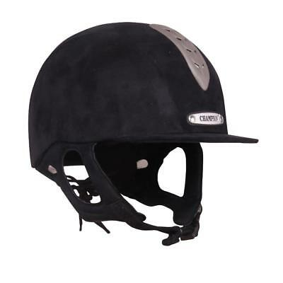 New Champion X-Air Junior Riding Hat - Navy - Was £58.50