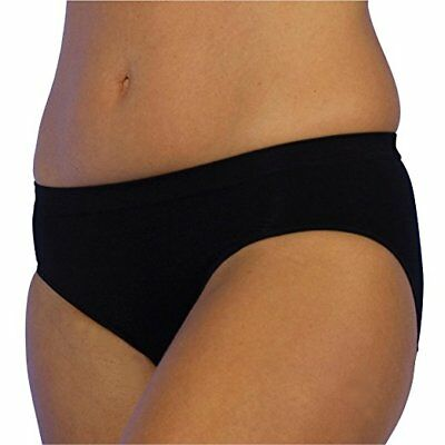 Upspring C-Panty Large/Extra Large Classic Waist C-Section Recovery Panty in Bla