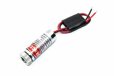 650nm 5mW Red Laser Cross Module HLM1230 CHT IIIa Adjustable Focus Flux Workshop