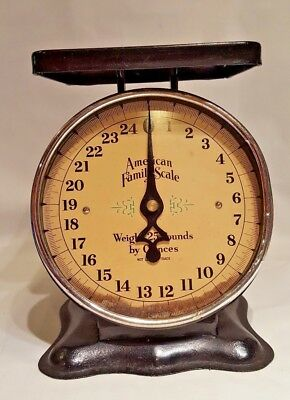 Vintage American Family Scale - 25 Lb.