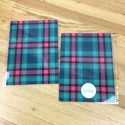 Limelife Planner LUCY Plaid Interchangeable Cover Set