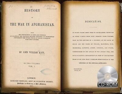 History of the War in Afghanistan 2 Volume 1851 Anglo-Afghan Kaye, John William