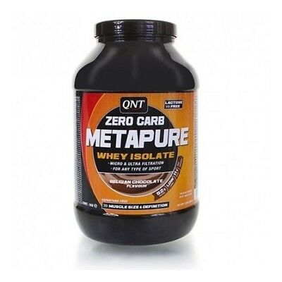 QNT - Metapure Zero Carb - Whey Protein Isolate 2000gr. sin grasa, sin carbos, s