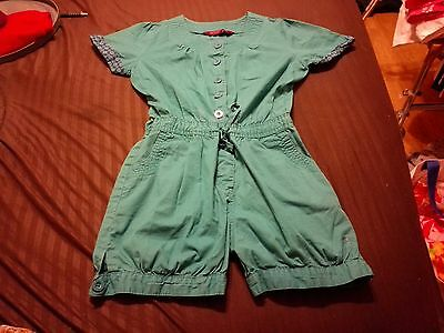 Girls short Playsuit By Mr Ted Baker.Age 8 Yrs.