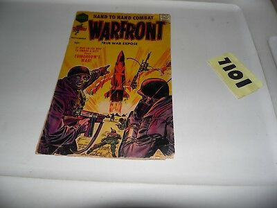 WARFRONT #34 1958 Harvey Thrill Adventures.  Scans of actual book!